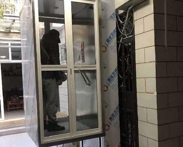 无底坑家用电梯