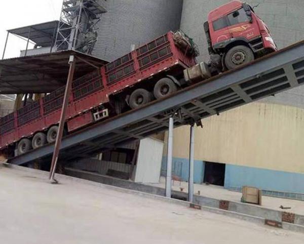 半自动卸车平台